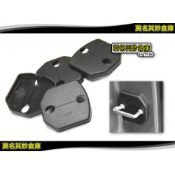 莫名其妙倉庫【AG010 車門鎖保護蓋(4入)】福特 Ford New Fiesta 小肥精品配件空力套件