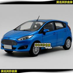 莫名其妙倉庫【AG041 Fiesta 模型車】福特 Ford New Fiesta 小肥1:18擬...